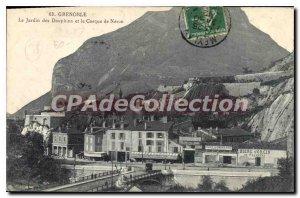 Old Postcard Grenoble The Garden Of Dolphins And The Neron Helmet beer Jorcin...