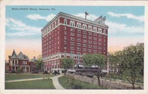 Hotel Patrick Henry, Roanoke, Virginia, 1910-1920s
