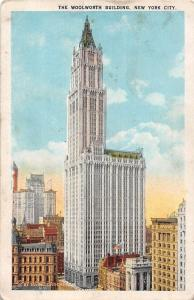 USA New York City The Woolworth Building
