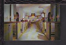 Interior Bruton Parish Church,Williamsburg,VA Postcard BIN