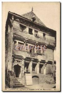 Old Postcard Old House Dite Lamballe From Executioner