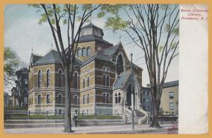 Providence, R.I. Brown University Library -