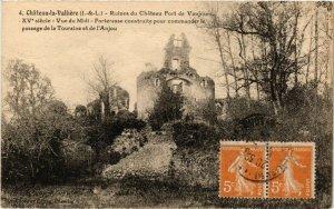 CPA CHATEAU-la-VALLIERE - Ruines du Chateau Fort de Vaujours (299262)