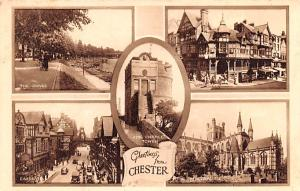 Chester United Kingdom Postcard King Charles Tower Chester