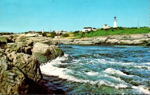Maione Cape Elizabeth Two Lights Lighthouse 1983