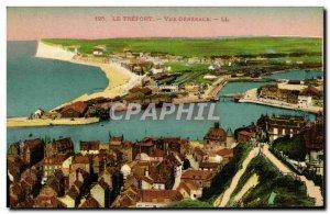 Old Postcard Treport Vue Generale