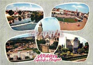 Modern Postcard Perigueux (Dordogne) The edges of the Isle Tour Mataguere Bas...