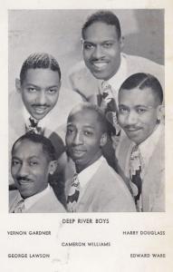 The Deep River Boys Hand Signed Photo Postcard