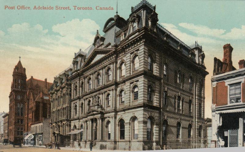 TORONTO , Ontario , 1900-10s ; Post Office ,  Adelaide Street