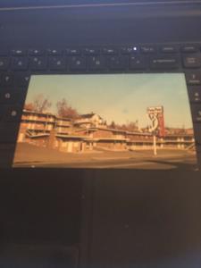 Vintage Postcard: Pony Pass Motel, Klamath Falls OR