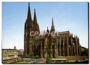 Postcard Modern Koln Dom Am Rhein