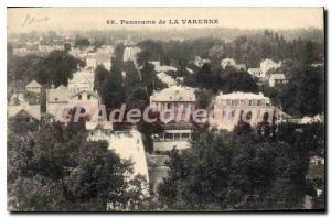 Old Postcard Panorama THE Varenne