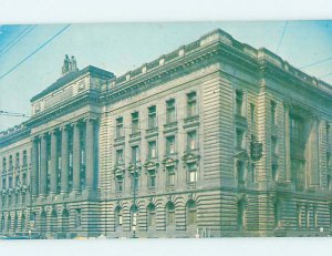 Pre-1980 COURTHOUSE SCENE Youngstown Ohio OH AE9784