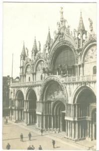 Venice, Venezia, St. Marco, unused real photo Salviati Card