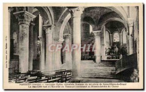 Old Postcard Poitiers Old Romanesque Abbey Church of Saint Hilaire Century of...
