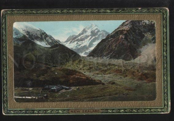102420 New Zealand Mount Cook and Hermitage Southern Alps TUCK