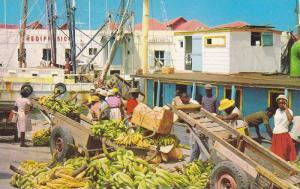 Careenage Scene, Bridgetown, Bananas, Barbados, West Indies, 1950-1960s