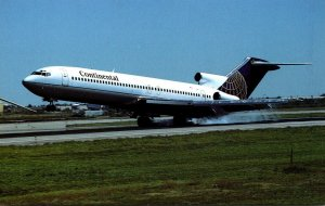 Continental Airlines Boeing B-727-232 Advanced At Stapleton International Air...