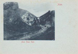 Main Pass gate , Aden , Yemen , 1890s