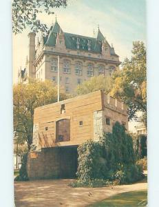 Unused Pre-1980 HOTEL SCENE Winnipeg Manitoba MB B0952