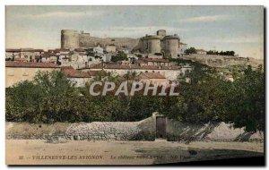Old Postcard Villeneuve Avignon The castle Saint Andre