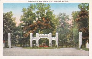 Kentucky Paducah Entrance To Bob Noble Park