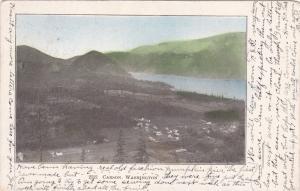 CARSON , Washington , PU-1909 : Aerial View of Carson