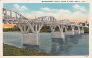 Alabama Montgomery Bibb Graves Memorial Bridge 1934