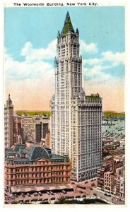 New York City , Woolworth Building