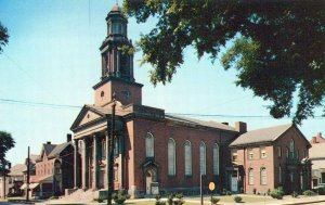 First Baptist Church College Washington Pennsylvania Vintage Chrome Post Card
