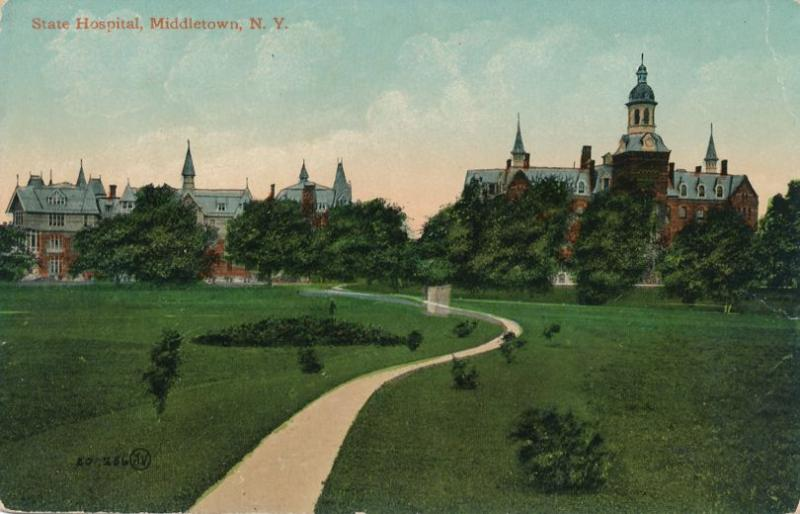 State Hospital at Middletown, Orange County NY, New York - DB