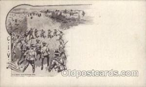 Gapture of Jacobsdal Military Postcard Postcards  Gapture of Jacobsdal