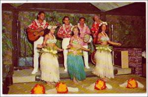 Tahitian Dancing, Kauai Surf Resort, Kalapake Beach, Kauai