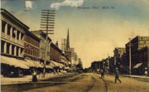 Main Street Bellevue OH 1908