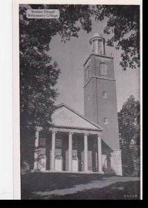 Michigan Kalamazoo,The Stetson Chapel Kalamazoo College Dexter Press Archives