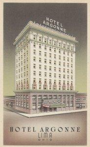 LIMA , Ohio , 1930s ; Hotel Argonne