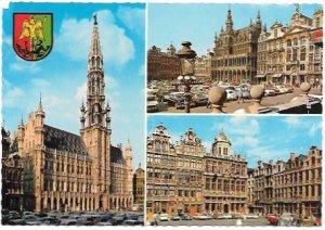 Belgium. Brussels Beautiful old Buildings.  Unused.