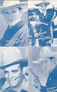 Cowboy Arcade Card Bob Steele Jimmy Wakely & Paul Parry