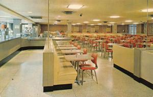 Muncie Indiana~Ball State College~The Tally Ho Student Center Lunch Counter~1965