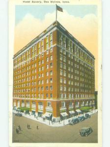 W-Border SAVORY HOTEL Des Moines Iowa IA HQ4817