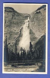 Field, British Columbia B.C., Canada Postcard, Takakkaw Falls