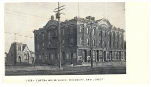 New Jersey  Woodbury ,  Green's Opera House