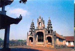 Vietnam The Phat Diem stone Church, L'Eglise de Pierre de Phat Diem