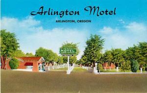 McClusky's Arlington Mote & Trailer Park Arlington Oregon OR Pre-zip code