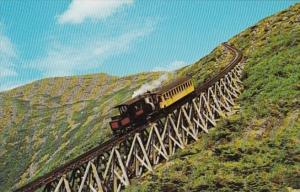 Trains Cog Railway Mt Washington White Mountains New Hampshire