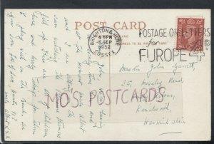 Family History Postcard -Garrett -35 Moseley Road,Windy Arbour,Kenilworth RF4451