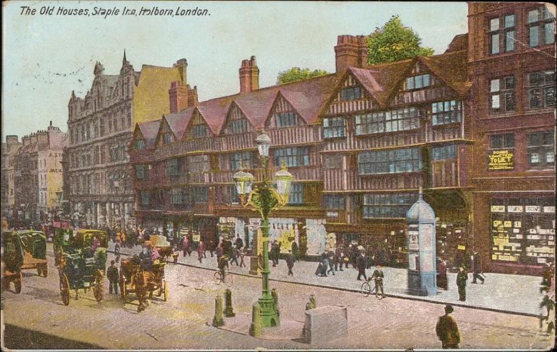 The Old Houses Staple Inn Holborn London UK / HipPostcard
