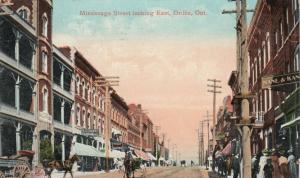 ORILLIA , Ontario , Canada , 1909 ; Mississage Street looking East