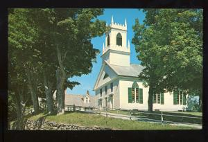 Weston, Vermont/VT Postcard, Weston Community Church