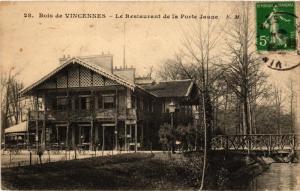CPA PARIS 12e Bois de Vincennes Le Restaurant de la Porte Jaune (672651)
